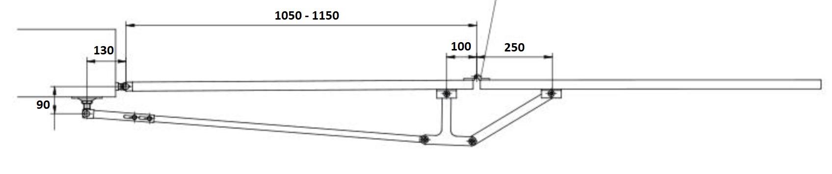 Skladací mechanizmus