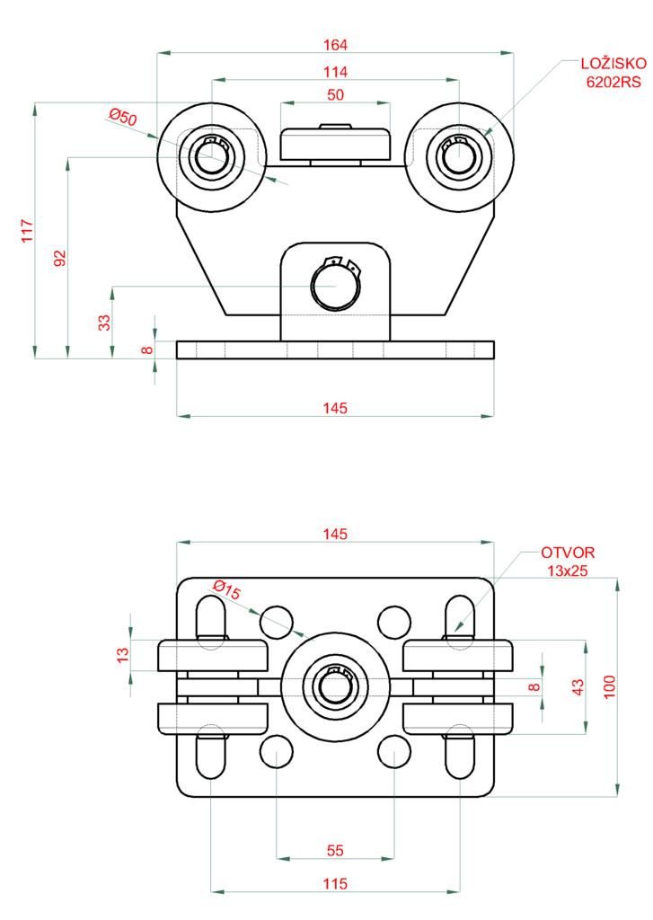 Nákres vozíku v-02-11