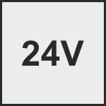24V jednokrídlové pohony