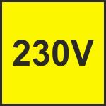 230V jednokrídlové pohony