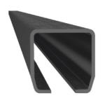 Čierny C profil - Fe