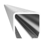 Nerezový C profil - Inox