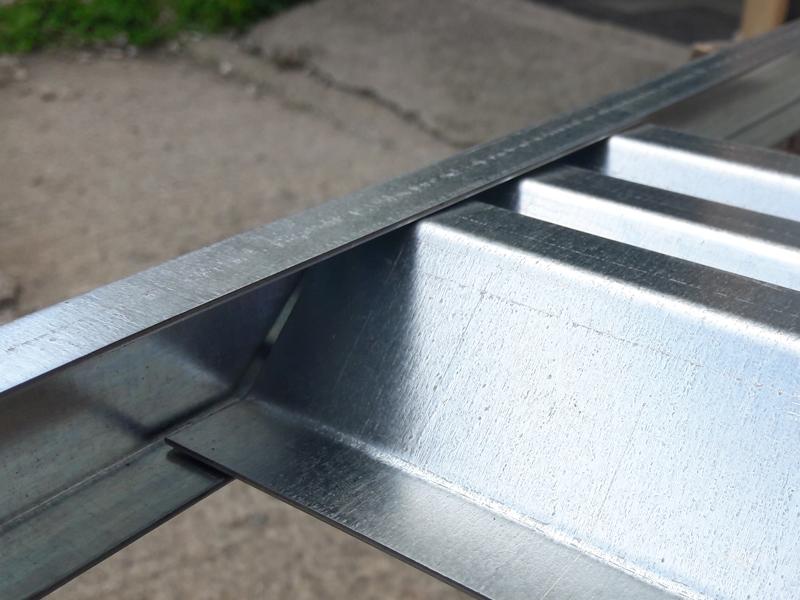 Polotovar lamela + z-profil