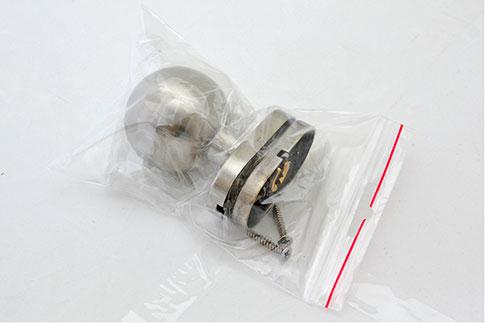 Inoxová pevná guľa ku kľučke z brúsenej nereze