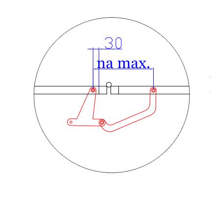 Montáž skladacieho mechanizmu krok 1