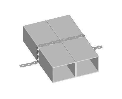 Ukážka použitia montážnej pásky
