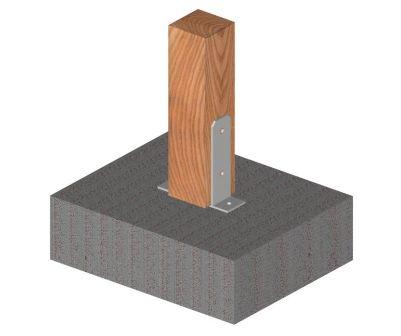 Ukážka použitia statického kotviaceho prvku tvaru TT