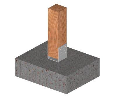 Ukážka použitia statického kotviaceho prvku tvaru U