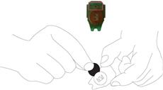 6. Vymeňte batériu v plošnom spoji