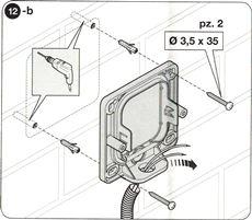 8. Osaďte telo fotobuniek na múr, alebo stĺp