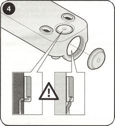 4. Vyrazte potrebnú priechodku pre kabeláž