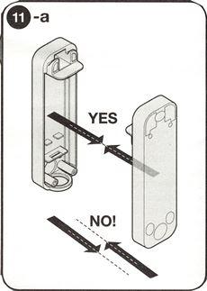 7. Fotobunky umiestnite kolmo oproti sebe