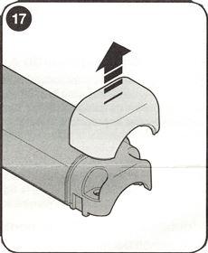 12. Dajte dole záslepku z krytu fotobuniek