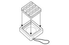 Montáž bezdrôtového tlačidla NiceWay do obalu NICE Go