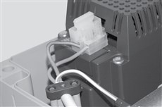 Zapojenie napájania pohonu NICE Moonclever MCMC424L - fáza a nulák