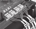 NICE MC824H zapojenie pohonov