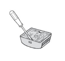 Vylúpnite plošný spoj fotobunky NICE MOF