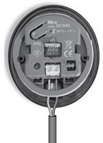 Zapojenie kabeláže čítačky kariet NICE MyMoonBus MOMB