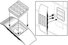 Montáž bezdrôtového tlačidla NiceWay do obalu NICE Ondo