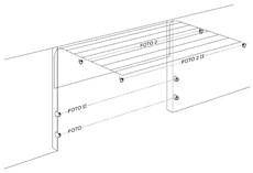 Zapojenie fotobunky sekčná garážová brána