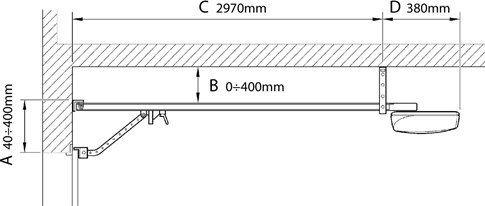 Predmontážne požiadavky NICE Spinbus 1/3