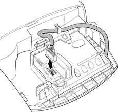4. Zapojte konektor do riadiacej jednotky