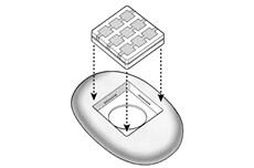 Montáž bezdrôtového tlačidla NiceWay do obalu NICE Stone