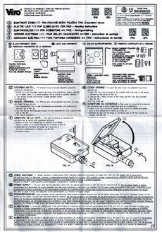 Manuál k elektrozámku VIRO V09 v češtine (scan)