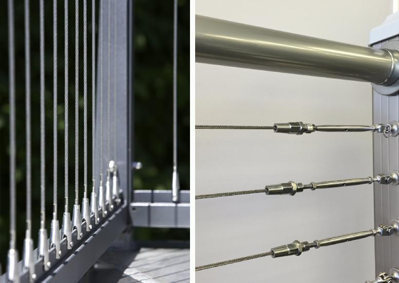 príklad použitia lankový systém