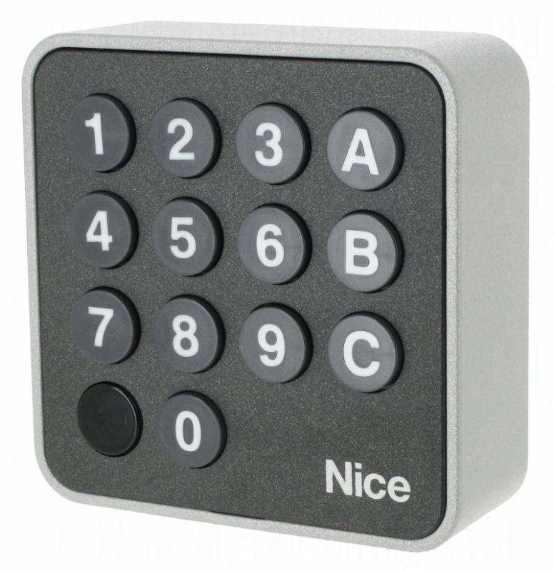 Otváranie brány klávesnicou