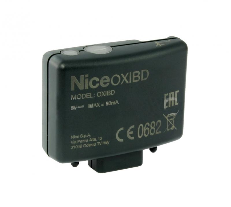 NICE OXIBD rádiový prijímač pohony