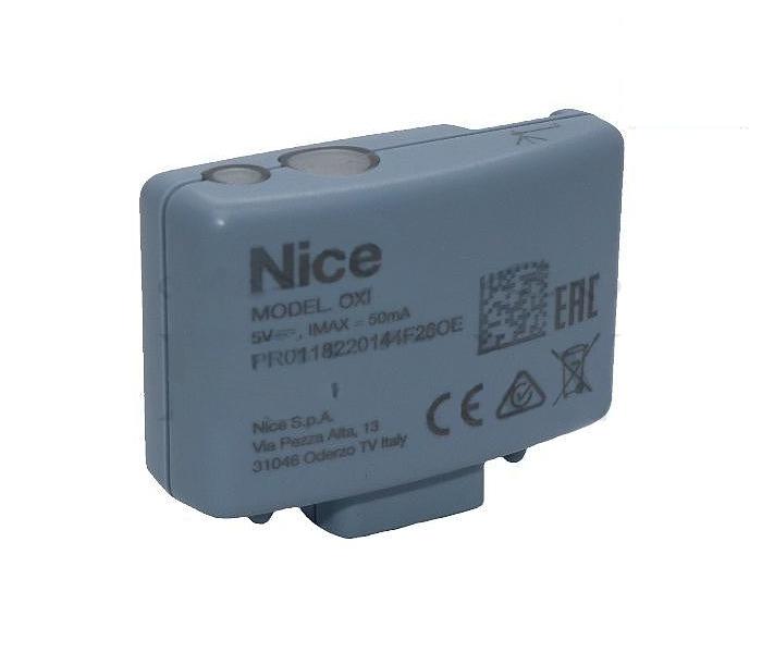 NICE OXI rádiový prijímač pohony