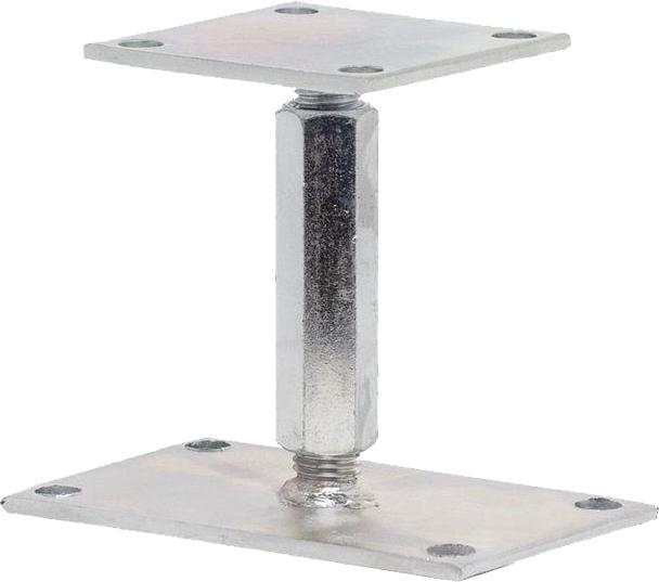 regulovate n pilierov p tka s maticou pre kotvenie. Black Bedroom Furniture Sets. Home Design Ideas