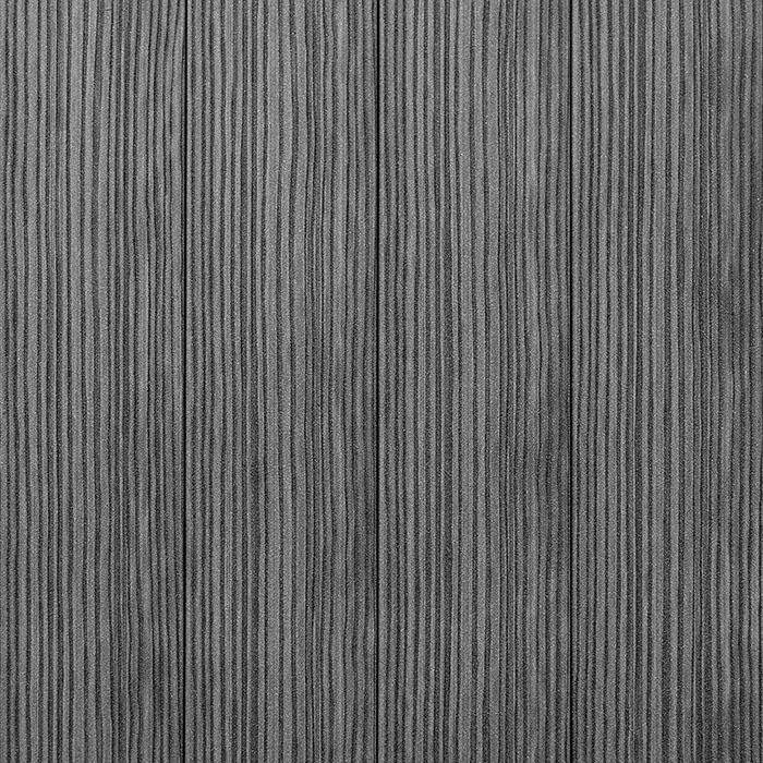 Antracitová plotovka, zvonku