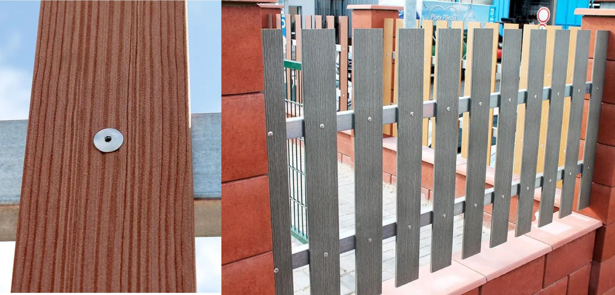 Použitie nitov na plotovke Pilwood