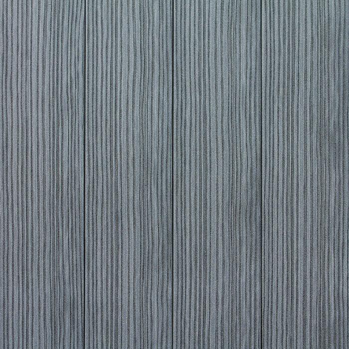 Sivá plotovka, zvonku