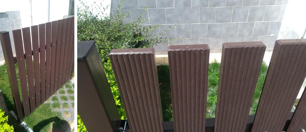 Farebnosť Pilwood stĺpika/priečnika a plotovky