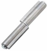 Dvojdielny pánt s výstupkami a čapom na privarenie s podložkou