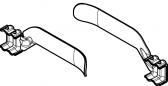 Náhradná sada koncových dorazov (pravý+ľavý) pre ozubený hrebeň pohonu pre posuvnú bránu