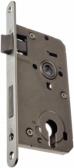 Zámok do bránky s oválnym predkom pre zapustenie 80mm, ZZ-09