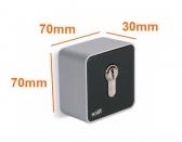 NICE Era Key Switch EKSEU - kľúčový spínač s európskou vložkou, povrchová montáž