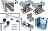 Sada pre výrobu samonosnej posuvnej brány do šírky prejazdu 3,2 m, s pozinkovaným C-profilom