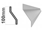 Z-profil-lamela 27x46x27x1,5mm, pozinkovaný, 2m - kus