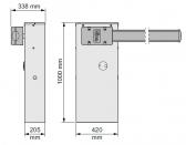 Závora WIDEL6-KIT rameno 6m a príslušenstvo