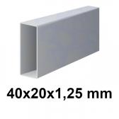 Žiarovo pozinkovaný joklový profil 40x20x1,25 mm