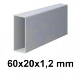 Žiarovo pozinkovaný joklový profil 60x20x1,2 mm