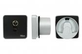 NICE Era Key Switch EKSIEU - kľúčový spínač s európskou vložkou, zapustený