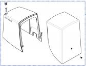 Vrchný kryt motorčeka pre Road 400/Robus 400 - PPD0892A.4540