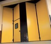 Sada pre výrobu dvojdielnej skladacej závesnej brány do prejazdu 6m