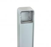 NICE PPK - hliníkový stĺpik pre klávesnicu, čítačku kariet a kľúčový spínač